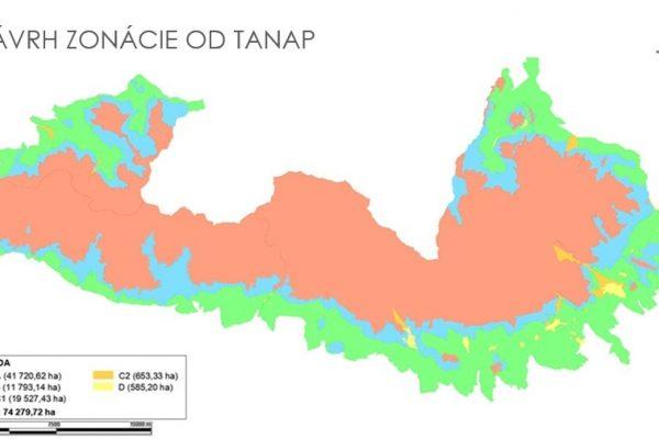 navrh zonacie - TANAP